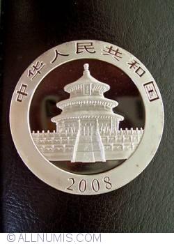 Imaginea #2 a 10 Yuan 2008 - Panda