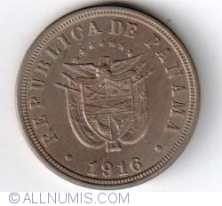 Imaginea #1 a 2 1/2 Centesimos 1916
