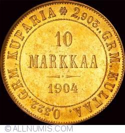 Image #1 of 10 Markkaa 1904
