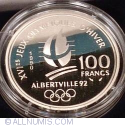 Image #2 of 100 Francs 1992