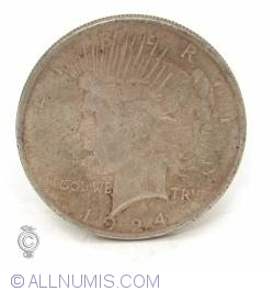 Image #1 of Peace Dollar 1924