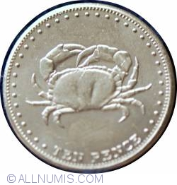Image #1 of 10 Pence 2008 - Crab