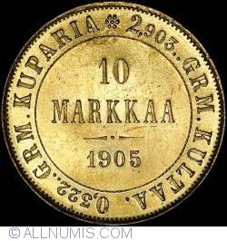 Image #1 of 10 Markkaa 1905