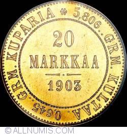 Image #1 of 20 Markkaa 1903