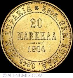 Image #1 of 20 Markkaa 1904