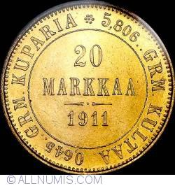Image #1 of 20 Markkaa 1911