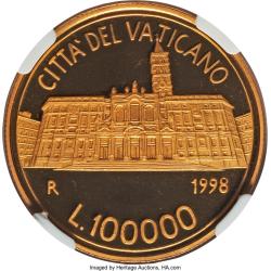 Image #1 of [PROOF] 100000 Lire 1998 (XX)
