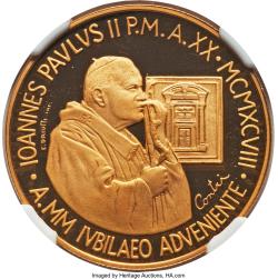 Image #2 of [PROOF] 100000 Lire 1998 (XX)