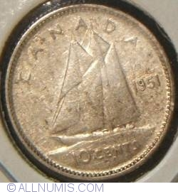Image #1 of 10 Cents 1951