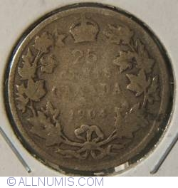 Image #1 of 25 Cents 1904