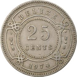 25 Cents 1974