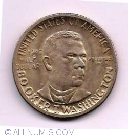 Half Dollar 1947 - Booker T. Washington - From Slave Cabin to Hall of Fame