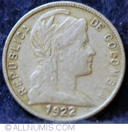 Image #1 of 5 Centavos 1922