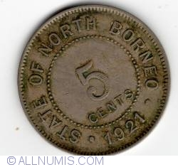 Image #2 of 5 Cents 1921