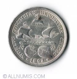Image #2 of Half Dollar 1893 - Columbian Exposition