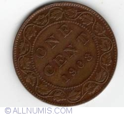 Image #2 of 1 Cent 1908