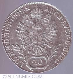 Imaginea #1 a 20 Kreuzer 1802 C