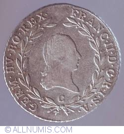 Imaginea #2 a 20 Kreuzer 1802 C