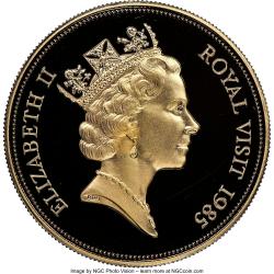 Image #2 of 500 Dollars 1985 - Royal Visit