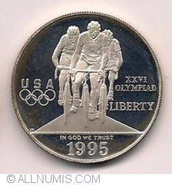Image #2 of 1996 Atlanta Olympics - Cycling Dollar 1995 P
