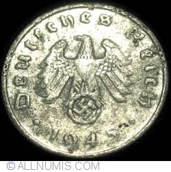 Image #2 of 1 Reichspfennig 1945 A