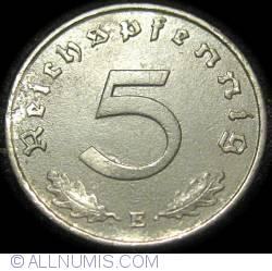 Image #1 of 5 Reichspfennig 1943 E