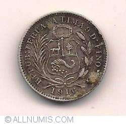 Image #1 of 1/2 Dinero 1916