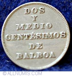Imaginea #2 a 2 1/2 Centesimos 1929