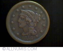 Image #2 of Braided Hair Cent 1856 ( S up-right)