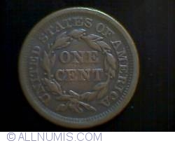 Image #1 of Braided Hair Cent 1856 ( S up-right)