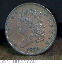 Image #1 of Classic Head Half Cent 1834