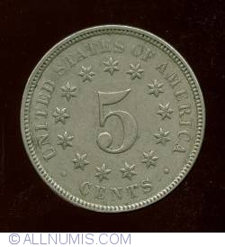 Image #2 of Shield Nickel 1876
