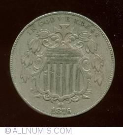 Image #1 of Shield Nickel 1876