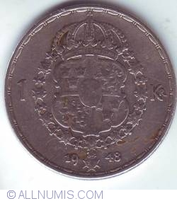 Image #1 of 1 Krona 1948
