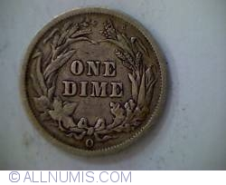 Image #2 of Barber Dime 1893 O