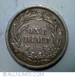 Image #2 of Barber Dime 1894 O