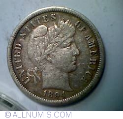 Image #1 of Barber Dime 1894 O