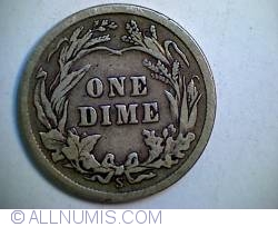 Image #2 of Barber Dime 1913 S