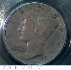 Image #1 of Dime 1916 D