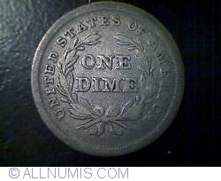 Image #2 of Seated Liberty Dime 1838 (*Large star)