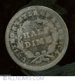 Image #2 of Seated Liberty Half Dime 1837 (Large date)