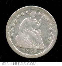 Image #1 of Seated Liberty Half Dime 1857 O