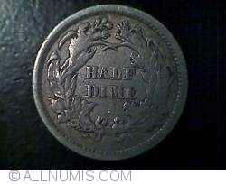 Image #2 of Seated Liberty Half Dime 1869