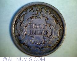 Image #2 of Seated Liberty Half Dime 1873