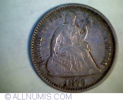 Image #1 of Seated Liberty Half Dime 1873