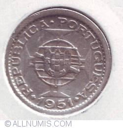 Image #2 of 2 1/2 Escudos 1951