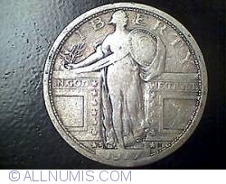 Image #1 of Standing Liberty Quarter 1917 S