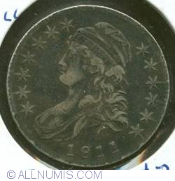 "Image #2 of Capped Bust Half Dollar 1811 (small""8"")"