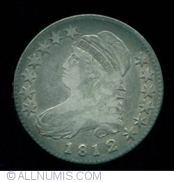 Image #1 of Capped Bust Half Dollar 1812/1 (small 8 )