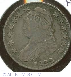 Image #1 of Capped Bust Half Dollar 1822